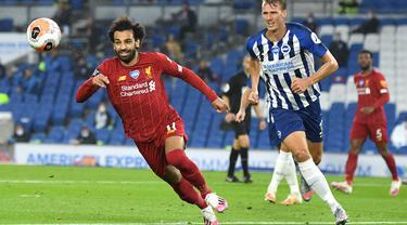 Mohamed Salah Tampil Mengesankan, Liverpool Bungkam Brighton 3-1