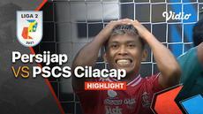 Berita Video, Hasil Pertandinga Persijap Jepara Vs PSCS Cilacap pada Senin (18/10/2021)