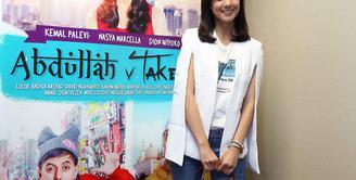Nasya Marcella diusia muda sudah merintis karir didunia akting, tak hanya itu ia sempat membintangi film layar lebar tanah air. (Nurwahyunan/Bintang.com)