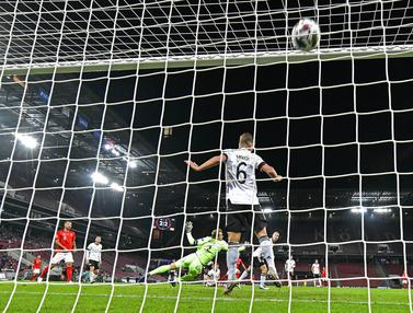 FOTO: Jerman Tahan Imbang Swiss 3-3