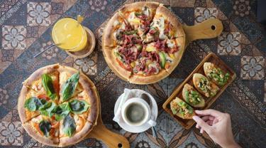Pizza Vegetarian di Kafe di Tangerang Bisa Jadi Pilihan Menu Buka Puasa