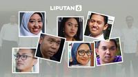 Banner Infografis Tujuh Wajah Milenial Staf Khusus Presiden. (Liputan6.com/Abdillah)