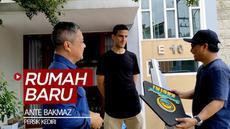 Berita video bek Persik Kediri, Ante Bakmaz, mendapatkan fasilitas rumah baru dengan statusnya sebagai pemain asing.
