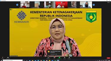 Direktur Jenderal Pembinaan Pengawasan Ketenegakaerjaan dan Keselamatan dan Kesehatan Kerja (Binwasnaker & K3) Kemnaker, Haiyani Rumondang