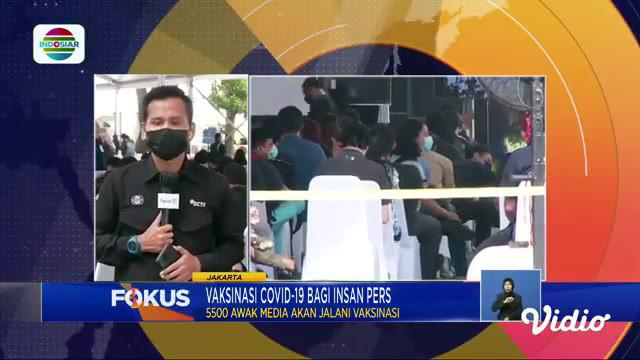 Fokus edisi (25/2) mengangkat beberapa topik berita di antaranya, Evakuasi Korban Tambang Longsor, Longsor Timpa Pondok Pesantren, Vaksinasi Covid-19 Untuk Insan Pers.