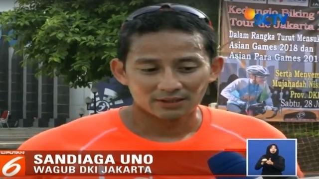 Wagub DKI Jakarta Sandiaga Uno membenarkan pemerintah pusat melalui Kementerian PUPR yaitu BBWS Ciliwung Cisadane turut membantu penanganan Kali Sentiong.
