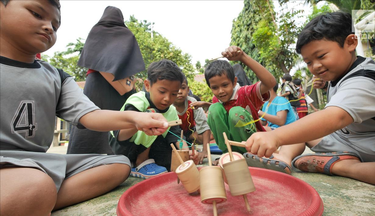 Foto Membangkitkan Eksistensi Permainan Tradisional Indonesia News Liputan6 Com