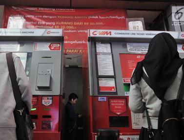 Penghapusan Tiket Harian Berjaminan KRL di 5 Stasiun