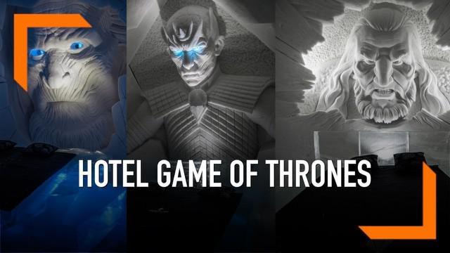 Serial Game of Thrones tengah ramai diperbincangkan warganet saat ini. Kini karakter dalam serial tersebut bisa dirasakan di dunia nyata dengan berkunjung ke sebuah hotel di Finlandia.
