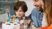 Ulang tahun (ultah) para bocah biasanya identik dengan kue, tiup lilin, beragam games, bingkisan lucu.