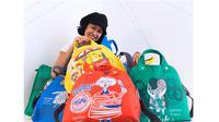 Terinspirasi dari persinggungan dari semakin canggihnya masa digital dituangkan Melissa Sunjaya dalam karya tas terbarunya.