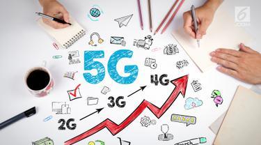 Jaringan HP 4G dan 5G