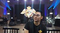 Rico Tian saat ditemui di perayaan ulangtahunnya di The Palace, SCBD, Jakarta, Kamis (8/8/2019)