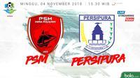 Liga 1 2018 PSM Makassar Vs Persipura Jayapura (Bola.com/Adreanus Titus)