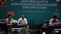 Dialog antara takmir masjid dan BNPT di Malang, Jawa Timur (Zainul Arifin/Liputan6.com)