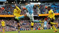 Manchester City vs Aston Villa (Reuters/Jason Cairnduff)