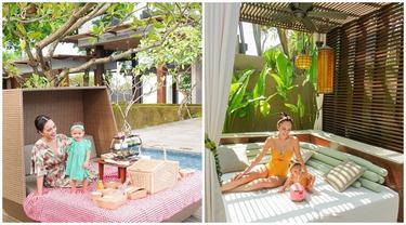 Tampil Kompak, Ini 6 Momen Shandy Aulia dan Baby Claire Herbowo saat Liburan di Bali
