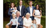 Foto keluaraga Pangeran Charles dalam ulang tahunnya ke 70 (dok.Instagram/@clarencehouse/https://www.instagram.com/p/BqIvjMIALqV//Asnida Riani)