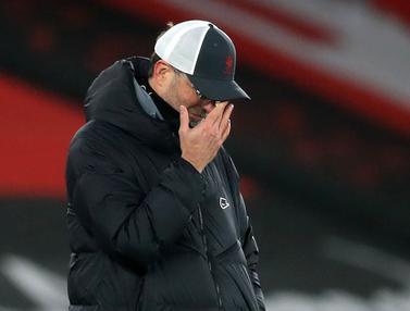 Ragam Ekspresi Jurgen Klopp Saat Liverpool Dikalahkan Southampton