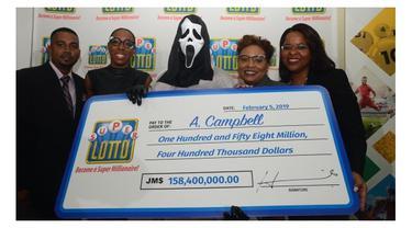 pria menang lotere