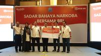 Program Sadar Bahaya Narkoba Bersama BRI di 19 kota yang diikuti oleh 1.900 peserta.