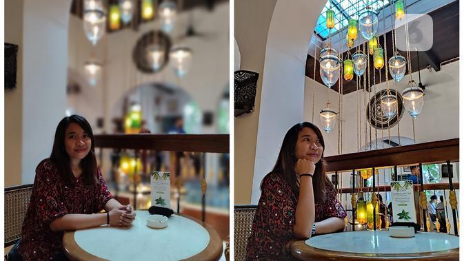Hasil foto Redmi Note 10 Pro, foto bokeh dan foto normal. (Liputan6.com/ Agustin Setyo W).