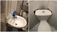 Desain unik kamar mandi (Sumber: Brightside)