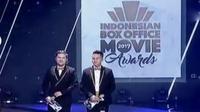 Indonesian Box Office Movie Awards 2017 digelar meriah. (Liputan 6 SCTV)
