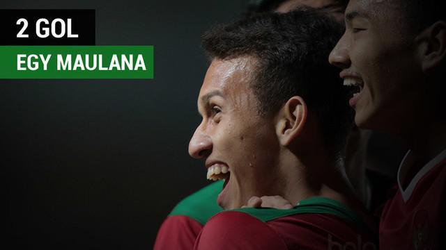 Berita video 2 gol kemenangan Timnas Indonesia U-19 pada laga pertama Grup B melawan Myanmar yang dicetak oleh Egy Maulana Vikri, Selasa (5/9/2017).