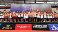26 Atlet Lolos ke Final Audisi Umum Beasiswa Bulu Tangkis PB Djarum di Kudus(Dok. PB Djarum)
