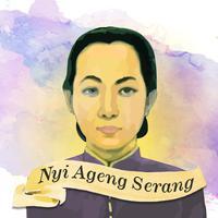 Ilustrasi Nyi Ageng Serang. Sumber ilustrasi: Document/FIMELA/Nurman Abdul Hakim.
