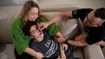 FOTO: Pemanfaatan Ganja Obat untuk Penderita Autisme di Brasil