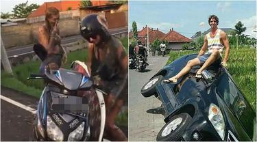 7 Kelakuan Nyeleneh Turis Saat Liburan di Bali Ini Bikin Geleng Kepala