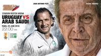 Uruguay vs Arab Saudi (Liputan6.com/Abdillah)
