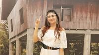 Influencer anak muda Kalteng, Eva Yunita