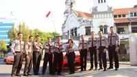 Sejumlah titik di kawasan Kota Lama Semarang akan berbenah termasuk kehadiran personil polisi pariwisata.
