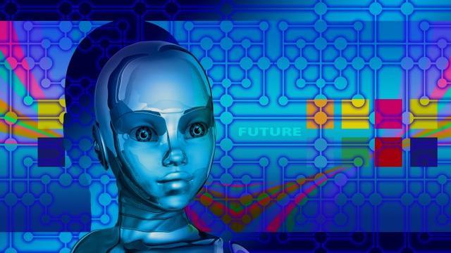 Ilustrasi Kecerdasan Buatan, Robot