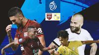 BRI Liga 1 - Duel Antarlini - Borneo FC Vs Barito Putera (Bola.com/Adreanus Titus)