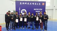 Tim Wushu Indonesia boyong tiga emas di Moscow Wushu Star jelang Asian Games (istimewa)