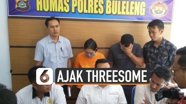 Seorang guru di Buleleng, Bali tega ajak siswinya threesome. Aktivitas seksual itu dilakukan bersama sang pacar.