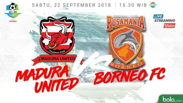 Madura Vs Borneo Facebook: Live Streaming Indosiar Madura United Vs Borneo FC Di Liga