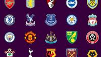 Klub kontestan Premier League  (EPL)