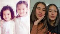 Masa Kecil Aaliyah Massaid dan Zahwa Massaid (Sumber: Instagram/