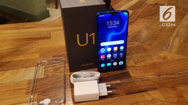 Realme U1. Liputan6.com/Yuslianson
