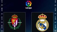 La Liga - Real Valladolid Vs Real Madrid (Bola.com/Adreanus Titus)