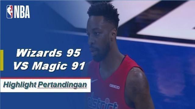 Bradley Beal skor 27 sebagai Wizards mendapatkan kemenangan atas Magic, 95-91.