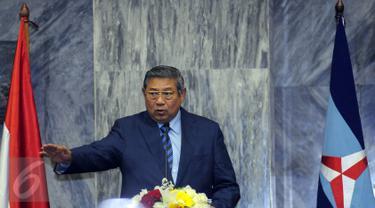 20150909-Kekompakan Keluarga SBY di Peringatan HUT ke-14 Demokrat-Jakarta