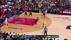 Berita video game recap NBA 2017-2018 antara Washington Wizards melawan Toronto Raptors dengan skor 122-103.