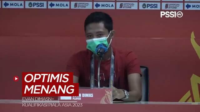 Berita Video, Evan Dimas Optimis Timnas Indonesia Mampu Atasi Chinese Taipei di Kualifikasi Piala Asia 2023