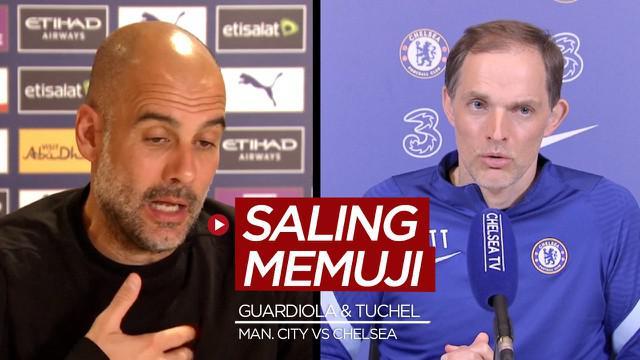 Berita video Pep Guardiola dan Thomas Tuchel saling memuji satu sama lain dalam konferensi pers jelang laga pekan ke-35 Liga Inggris 2020/2021, Manchester City vs Chelsea.